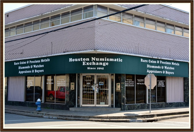 Houston's Numismatic Exchange – gold and silver dealer in Houston, TX
