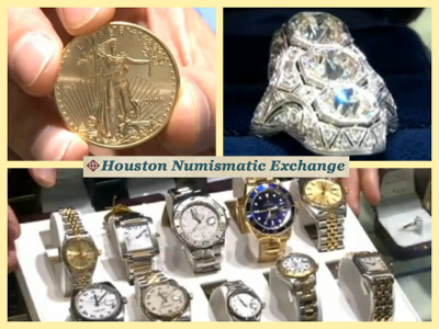 rare coins, antique jewelry, and antique watches – Houston, TX